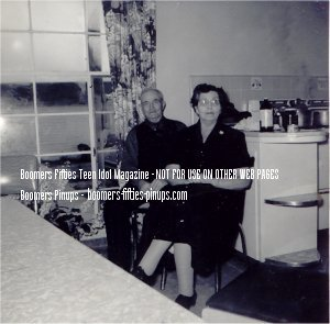 1956 Grandparents: Charlie and Minnie (age 67)