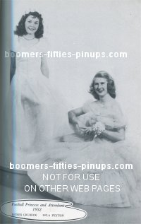 esther and lela 1952 fashions for prom