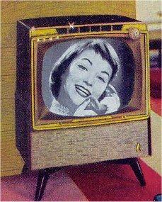 © boomers pinups - late fifties admiral tv
