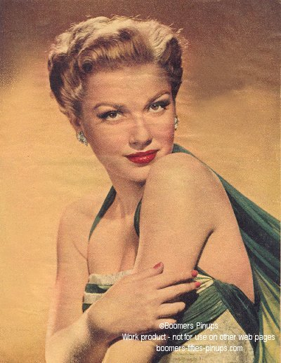 © boomers pinups work product - anne baxter classic picture