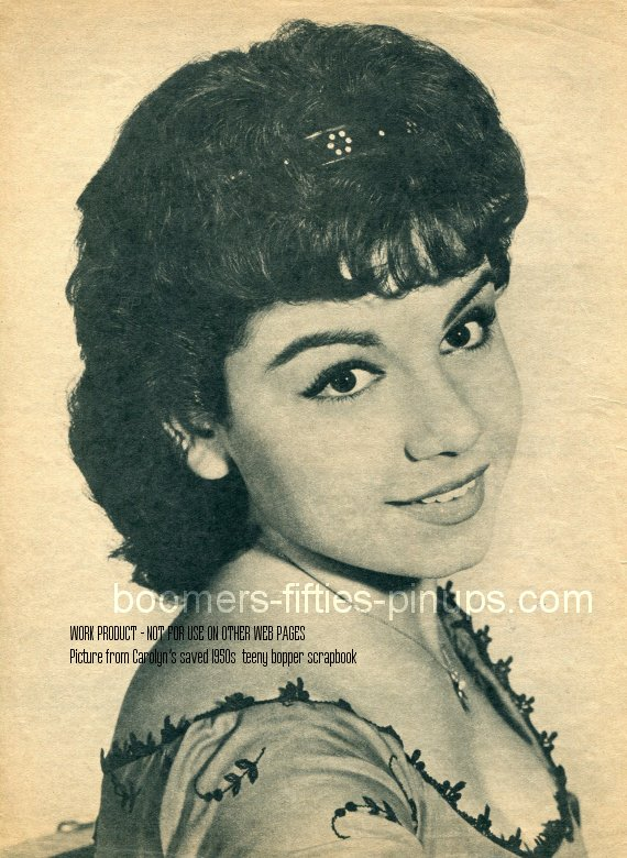 © boomers pinups work product - annette funicello picture