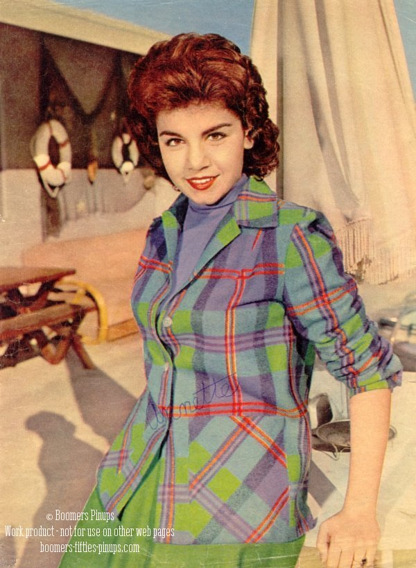 © boomers pinups work product - annette funicello