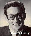 singer Buddy Holly, horn rimmed glasses