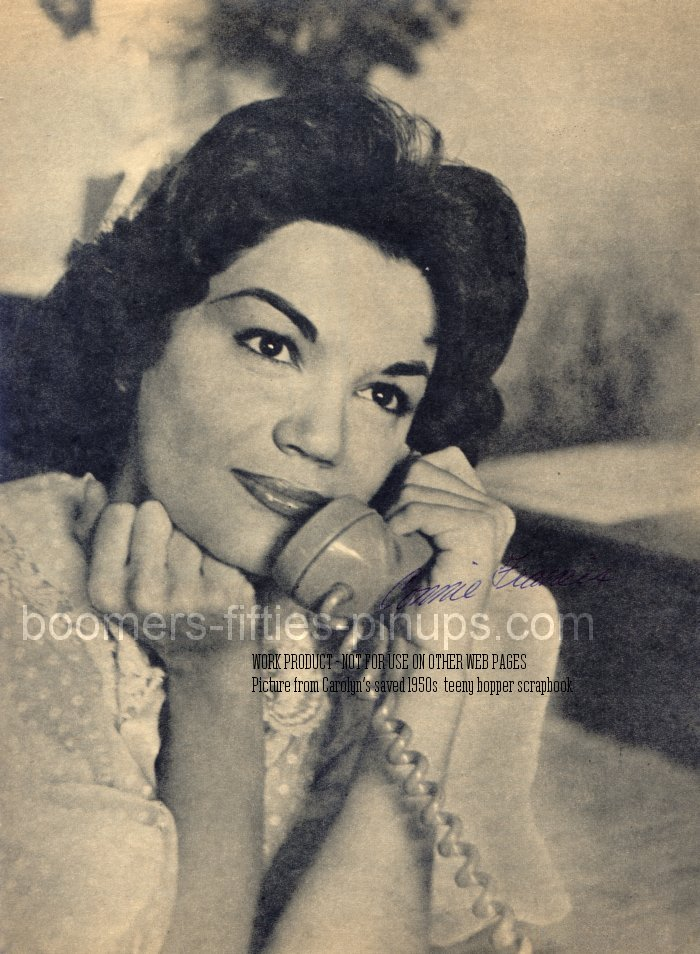 boomers pinups work product connie francis photo