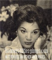 © boomers pinups work product - connie francis photo