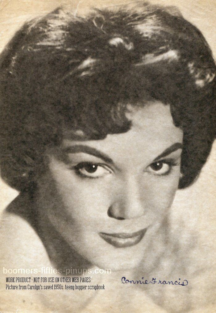 boomers pinups work product connie francis pic