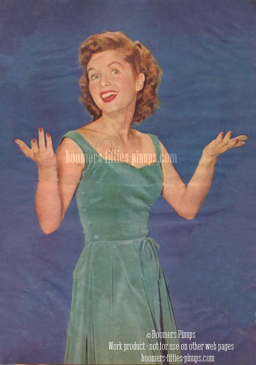 © boomers pinups work product - debbie reynolds picture