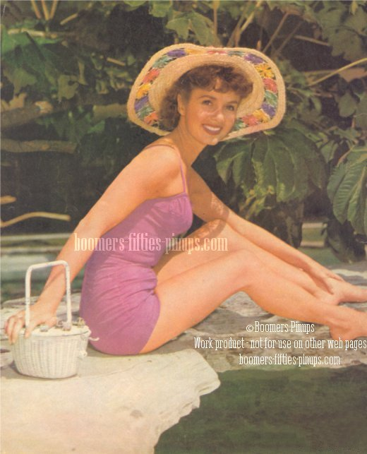 © boomers pinups work product - debbie reynolds pinup