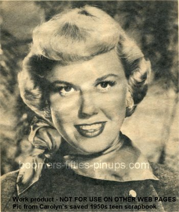 © boomers pinups work product - doris day