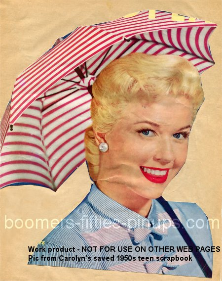 © boomers pinups work product - doris day pic