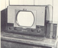 early tv set