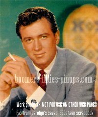 © work product - rock hudson fashion photo