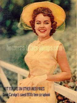 © boomers pinups work product - terri moore 1950s cotton dress