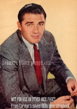 © work product - steve cochran in 1950's  suit