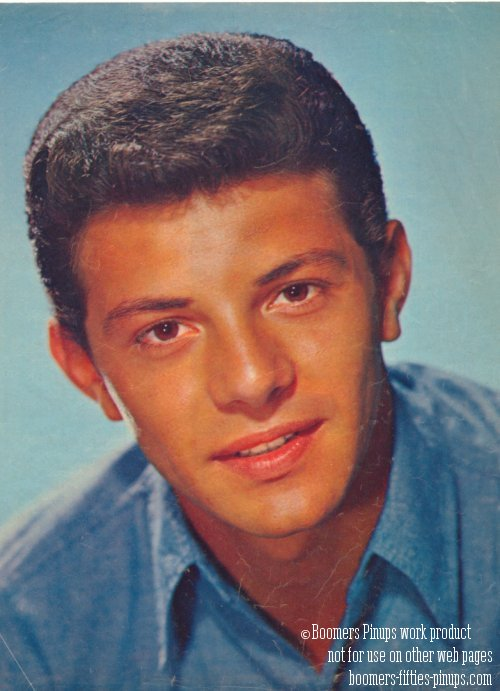 © boomers pinups work product - Frankie Avalon photo