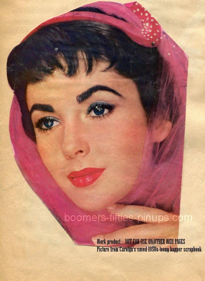 © boomers pinups work product - elizabeth taylor photo