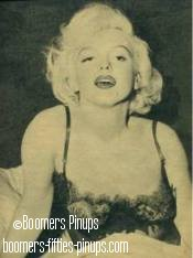 © boomers pinups - some like it hot marilyn monroe picture