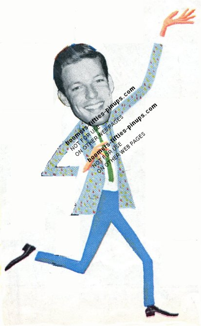 © boomers pinups work product - richard chamberlain cartoon picture