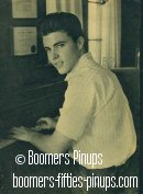 © boomers pinups work product - ricky nelson at piano