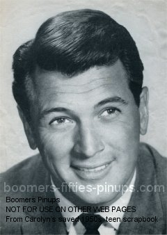 © boomers pinups work product - rock hudson picture