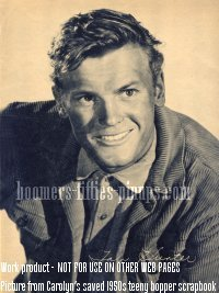 corduroy jacket, actor tab hunter