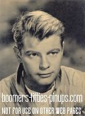 © boomers pinups work product - troy donahue photo