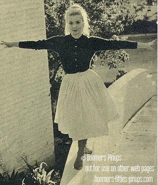 1950's TEEN FASHION STYLE © boomers pinups work product - tuesday weld style ...