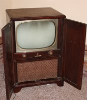 © zenith 1950's tv set